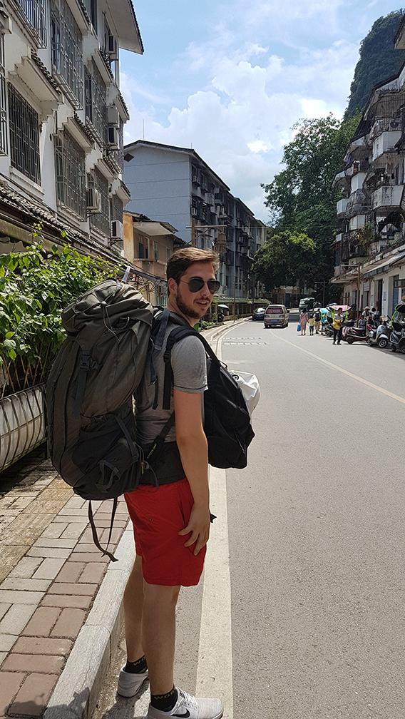 Piotr van Rijssel traveling
